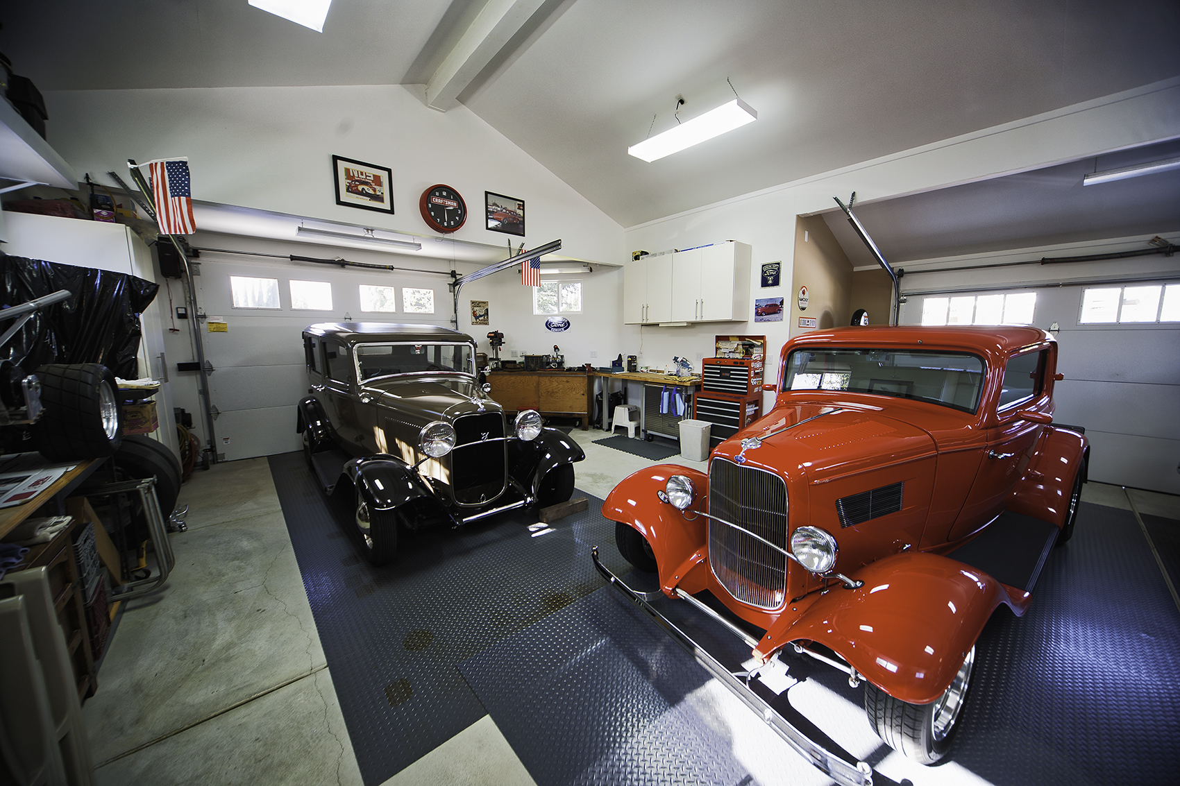 Hot Rod Garages Home : Fountain valley ca hot rod garage cl taylor